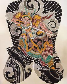 Kazuo Oguri (Horihide) artwork - tattoos - Pinterest ...