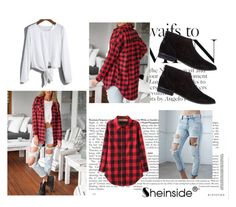 """""""Sheinside 2/I"""" by aneela-57 ❤ liked on Polyvore featuring Bullhead Denim Co. and ALDO"""