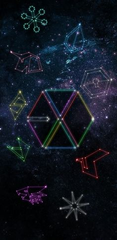 EXO CONSTELLATION i6/i7 WALLPAPER (© exoslotto) •do not edit• insta : ohsorryprue / spam - pruesorryoh hi feel free to use my creation and give me feedback on how it is :) if you want your personal wallpaper , please ask me if you want but i am still practicing on my creativity because i suck at being creative haha . please go message me here or on instagram if you will !