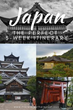 Best of #Japan 3 week itinerary including #Tokyo #Kyoto #Kanazawa #Hiroshima #Osaka and #Fukuoka. We give detailed recommendations for things to do in each city and if the JR Pass is worth it. #Asia #Travel
