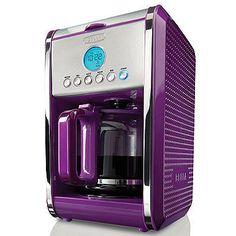 Bella Dots 12-Cup Coffee Maker - Various Colors PURPLE EVEN