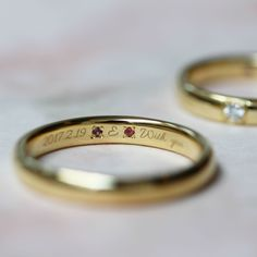 トルマリンの石言葉は、『寛大』『潔白』『忍耐』『成功』『健やかな愛』 [marriage,wedding,ring,bridal,K18,マリッジリング,結婚指輪,オーダーメイド,ウエディング,ith,イズマリッジ]