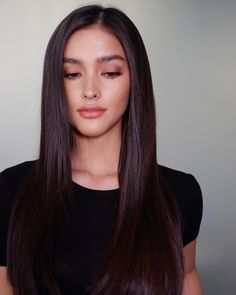 Liza Soberano / Thanks for today 💜 Beauty Makeup, Hair Makeup, Hair Beauty, Filipino Makeup, Thanks For Today, Trajes Kylie Jenner, Looks Pinterest, Formal Makeup, Asian Hair