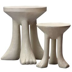African Stools In The Style Of John Dickinson | From a unique collection of antique and modern stools at http://www.1stdibs.com/furniture/seating/stools/