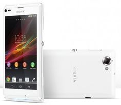 Sony adds a new mid-range Smartphone to its Xperia lineup. Dubbed as the Xperia L, the new Smartphone offers best in-class camera technolo. Sony Mobile Phones, Sony Phone, Latest Mobile Phones, Newest Cell Phones, New Phones, Android Phones, Phone Case, Sony Xperia, Smartphone Reviews