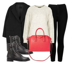 """""""#13911"""" by vany-alvarado ❤ liked on Polyvore featuring Topshop, Gianvito Rossi and Givenchy"""