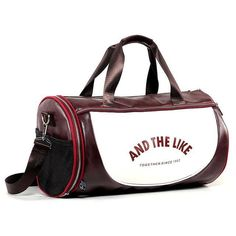 Tiger in Flames PU Leather and Suede Weekender Bag