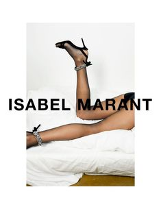 Isabel Marant x Jurgen Teller SS18 Today is the day that Isabel's new campaign, shot by Juergen Teller, sees the light. The series features Anna Ewers and