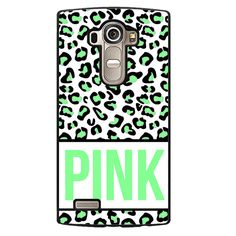 Pink Green Leopard Phonecase Cover Case For LG G3 LG G4