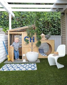 toddler outdoor playspace