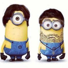 Can't...contain...the...cute. Sam and Dean: minions. more like WTF....