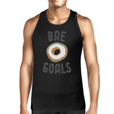 Bae Goals Men's Graphic Tanks Unique Design Gift Ideas For Couple