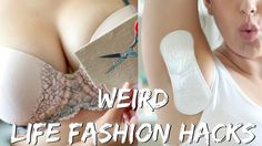 17 WEIRD FASHION LIFE HACKS EVERY GIRL SHOULD KNOW! | BeautyyBird