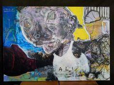 Pawel Kin - Ali (acrylic on canvas)