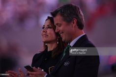 Crown Prince Frederik and Crown Princess Mary at Rio Olympics 2016.