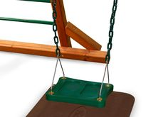 Gorilla Playsets Stand-N-Swing (04-0026) Stand up and cheer! The Stand-N-Swing is finally here! Do you remember standing up on the swings when you were a kid? S