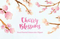 Pastel Flowers Bouquet Handpainted Watercolor by bellaloveletters