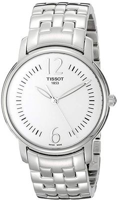 Tissot Women's Silver Dial Lady Round Watch >>> You can get more details by clicking on the image. Rolex Watches, Wrist Watches, Silver Rounds, Michael Kors Watch, Lady, Stuff To Buy, Accessories, Note, Amazon