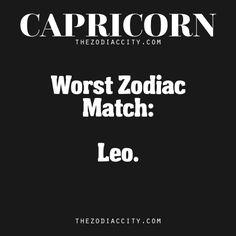Worst Zodiac Match For Capricorn According To Their Needs | TheZodiacCity.com