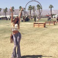 Lele Pons Style - COACHELLA BABY #finally outfit from @lfmiami