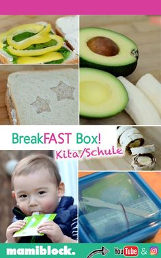 Ideas for the lunch box Kindergarten and school- Ideen für die Brotdose Toddler Meals, Kids Meals, Lunch To Go, Lunch Box, Boite A Lunch, Baby Snacks, Baby Eating, Blog Love, Easy Family Meals