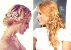 Side Twist and Accessories - 18 Best ideas of Wedding Hairstyles for Women with Thin Hair - EverAfterGuide