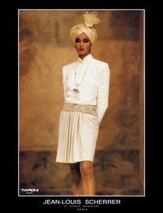 ANNE FIONA Jean Louis Scherrer A/W 1990