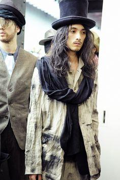 Yohji Yamamoto S/S15...Back to the future...Romantic Hippie Chimneysweep