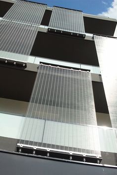 HAVER Architectural Wire Mesh has not only a functional effect but also a decorative one. Project: Facade cladding 66 Logements à Reims, Architect: PACE Architects , Manufacturer: HAVER & BOECKER