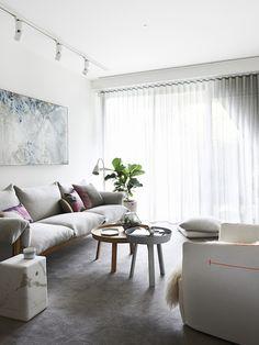 Melbourne home via The Design Files. Photo: Eve Wilson