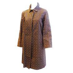 Louis Vuitton monogram Mackintosh Rain coat  For Sale