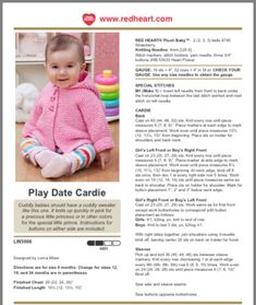 Baby cardigan Source by berylfairweathe Sweaters Baby Cardigan Knitting Pattern Free, Kids Knitting Patterns, Baby Sweater Patterns, Crochet Baby Cardigan, Knit Baby Sweaters, Knitted Baby Clothes, Baby Hats Knitting, Baby Knits, Free Knitting