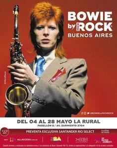 El fotógrafo de David Bowie llega a Buenos Aires con una muestra única en el mundo   Mick Rock es el Dios de la fotografía; es la historia viva del rock habiendo retratado como nadie la escena musical londinense y neoyorquina de los últimos cuarenta años. La muestra Bowie by Mick Rock llega a nuestro país a través de DF Entertainment y Access Creative Agency New York. Mick Rock es El hombre que fotografió el rock; es el artista inimitable que lanzó su carrera con un desconocido David Bowie…