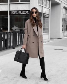 Camel Coat Outfit c/o @jodiblk_ • 388 likes