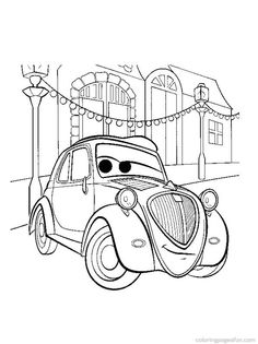 disney cars printable coloring pages - Cars 2 Coloring Pages To Print