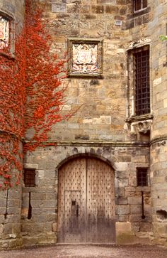 Falkland Palace - country residence of the Stuart monarchs for 200 years and a favorite place of Mary, Queen of Scots.