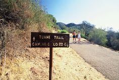 Santa Barbara, CA: Seven Falls via Tunnel Trail - Backpacker :)