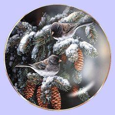 Winter Gems: Junco - Hadley House - Artist: Rosemary Millette