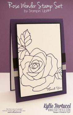 Rose Wonder Customer Thank You Cards