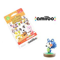 Gaming / Game Accessories / Animal Crossing Mabel amiibo w/ Free Animal Crossing amiibo Cards Series 2 Pack