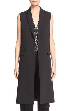Michael Kors Long Bonded Wool Vest available at #Nordstrom