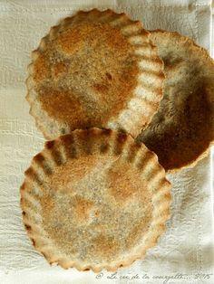 Pâte à tarte au sarrasin {sans gluten}►150 g farine de sarrasin ►50 g farine de riz complet ►8 cl huile d'olive ►8 cl eau filtrée ►1/2 c.c de sel marin
