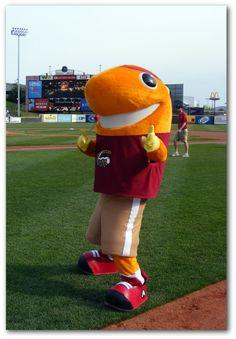 Al Tuna, Altoona Curve mascot; AA Eastern League