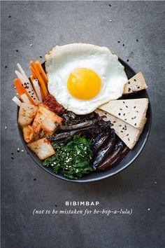 Vegetarian Bibimbap on christelleisflabbergasting.com