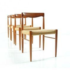 Located using retrostart.com > Dinner Chair by Henry W. Klein for Bramin