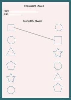 Kids Discover Connecting the correct shapes. Creative Curriculum Preschool Preschool Writing Numbers Preschool Free Preschool Preschool Homework Letter Tracing Worksheets Pre K Worksheets Printable Preschool Worksheets Kindergarten Prep Shape Worksheets For Preschool, Kindergarten Math Worksheets, Numbers Preschool, Tracing Worksheets, Hindi Worksheets, Kindergarten Prep, Preschool Homework, Creative Curriculum Preschool, Preschool Printables