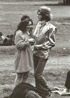 vendimia cotidiana: Girls of Woodstock - El Mejor Belleza y Estilo Momentos de 1969