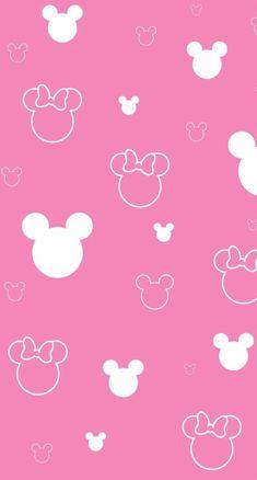 ミッキーミニー iPhone壁紙 Wallpaper Backgrounds and Plus Mickey and Minnie Simple Pattern Wallpaper Gothic Wallpaper, Unique Wallpaper, New Wallpaper, Pattern Wallpaper, Wallpaper Backgrounds, Mickey Mouse Wallpaper, Wallpaper Iphone Disney, Pink Minnie, Minnie Mouse