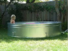 Pool idea can get it at any ranch store like Tractor Supply store or any store that sells ranch and farmers supplies for livestock.