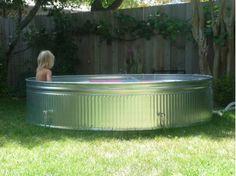 Haha.    Hhuumm what an idea.   Pool idea